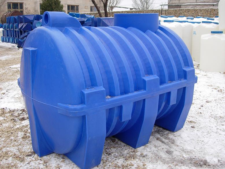 Пример пластикового септика